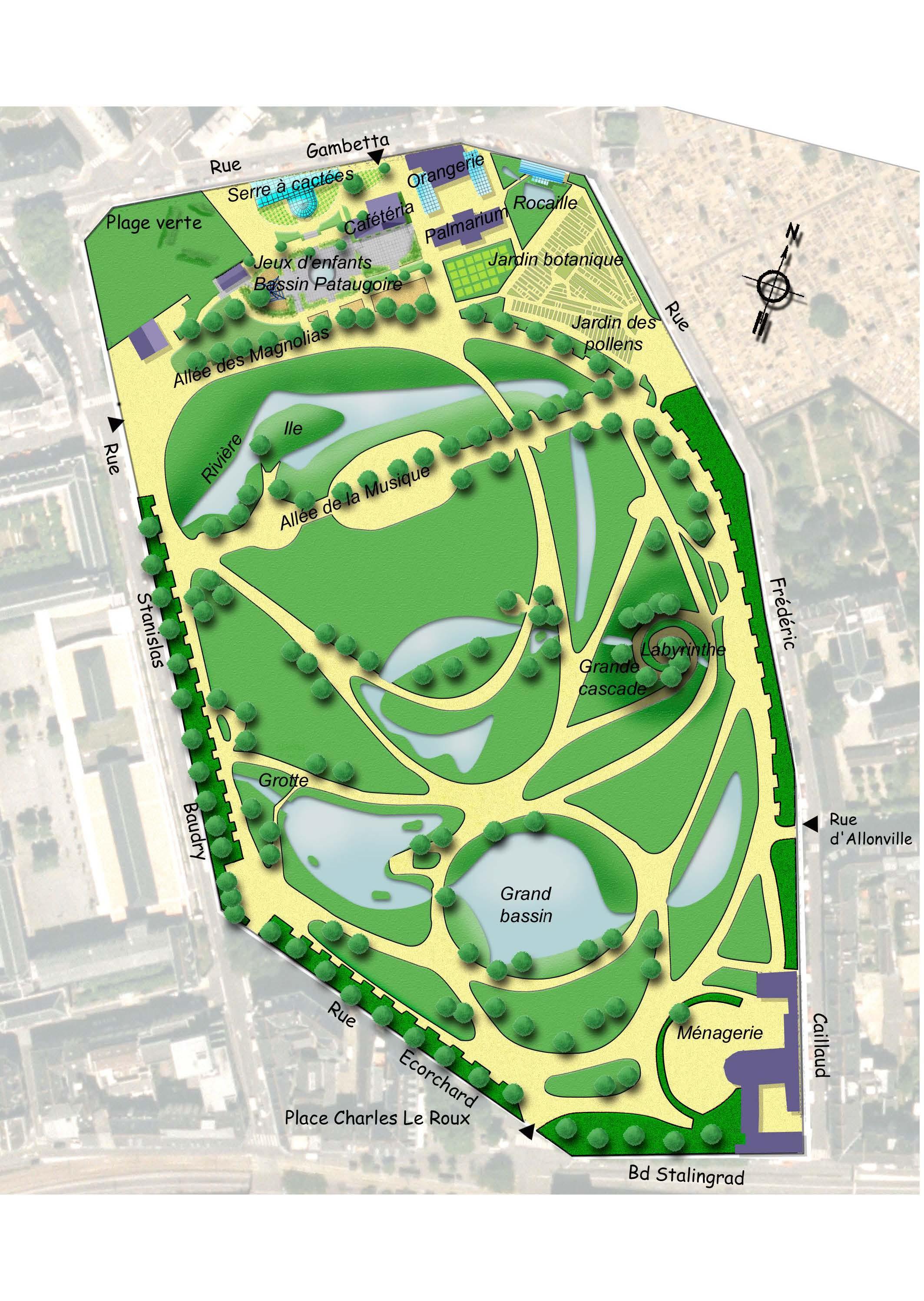 Myartmag nantes for Jardins des plantes