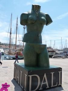 Dali et autres curiosités au Vieux Port dans actualités de l'art dali-marseille-2013-224x300